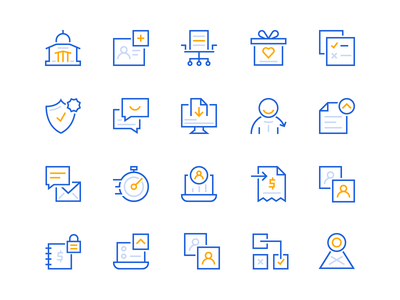 HR Icon Set benefits hr brand designer iconography icon brand identity branding illustration