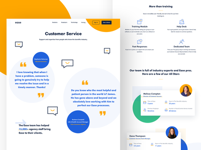 Customer Service web  design web design agency website landing page typography logo icon illustration brand identity broker hr software brand design branding customer service hr