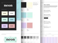 Neon Brand Guide
