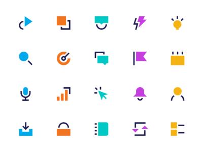 Geometric Icon Set