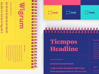 Type Pairing brand design brand type pairing type modern typography brand identity branding
