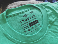 Grouper Clothing Tag