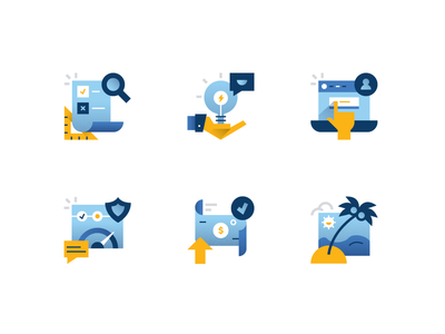 Fin Tech Icon Set branding onboarding smart invest money beach dashboard iconography icon set icons icon fintech app finance app financial finance fintech