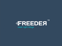 Freeder - read right blogs