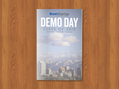 BoomStartup Demo Day Program demo slc program boomstartup salt lake city utah day accelerator wood