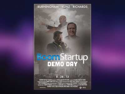 Demo Day Movie Poster poster film credits movie demo day boomstartup