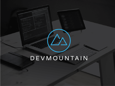 DevMountain tech computer code coding school javascript logo