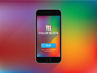 Color Chase iPhone blur icon chase block color game iphone app