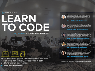 Magazine Full Page Spread business utah provo salt lake city web development ios computer skills learn code magazine