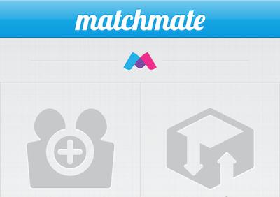 User Interface for iPhone App ui iphone menu matchmate app