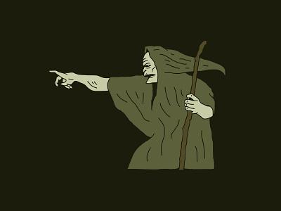 Reaper grave reaper death horror illustration wizard