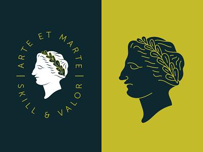 By Skill & Valour bravery ancient empire greece latin roman valor