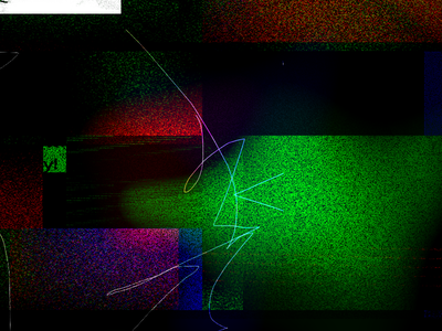 Gettin' Weird abstract grid texture brutalist fuzz rgb distortion noise grain digital weird