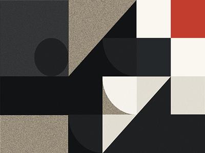 Palette exploration modernism abstract bauhaus minimal grid layout modern grid
