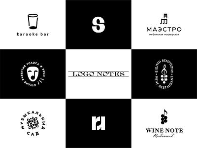 LOGO NOTES branding notes music logos logo