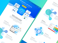 landing page Multichannel