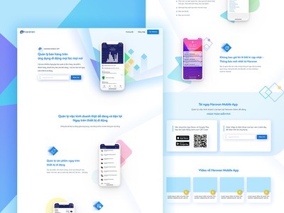 App Landing Page web design website page illustration design hochiminh hcm web landing page ui