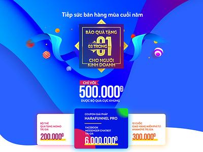landing page for promotion web vietnam event promotions landing website page design hochiminh hcm landing page ui