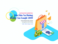 landing page for event with google shopping