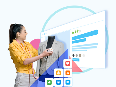 everything you need to grow your business :D visual web design page web website tailor business illustration design ui hochiminh hcm