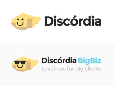 Discórdia logo cloud