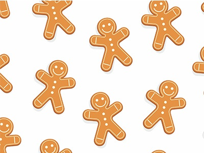 gingerbread man pattern food festive dessert decoration decorated cookie christmas celebration cake brown biscuit baked