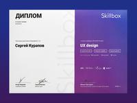 Diploma in UX Design