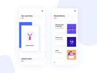 Agency Portfolio Page