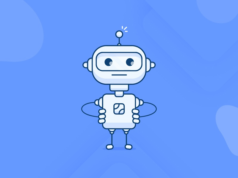 Ai Robot Icon Illustration concept-illustration minimal illustration