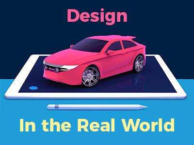 uMake Website AR and Vehicle mockup. ar mockup web design umake car design