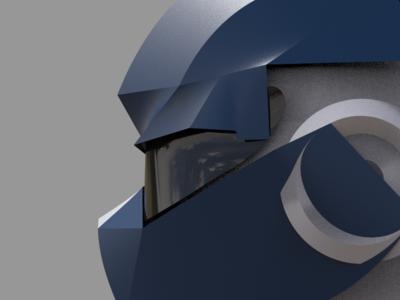 Sektor Helmet - Work In Progress 3d sketching 3d modeling keyshot 7 umake