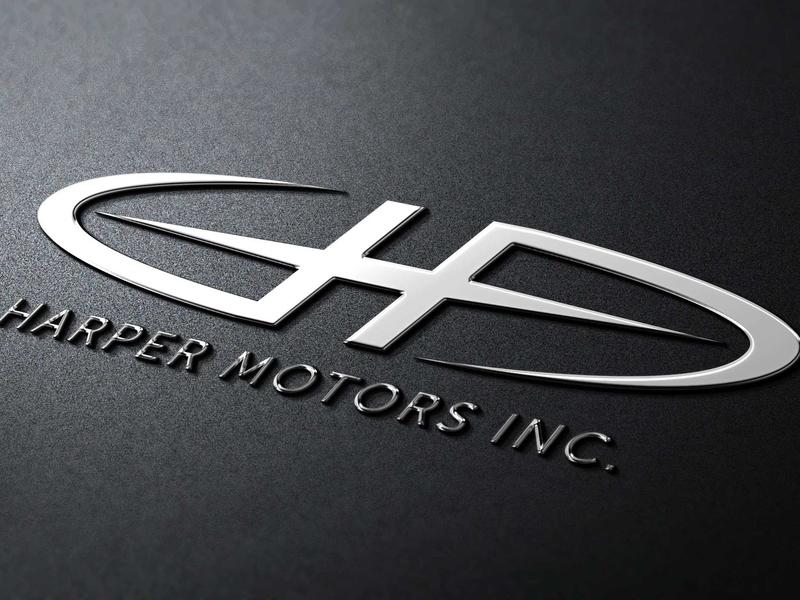 Harper Motors Inc. Logo Mockup dreams illustration graphic design automotive logo
