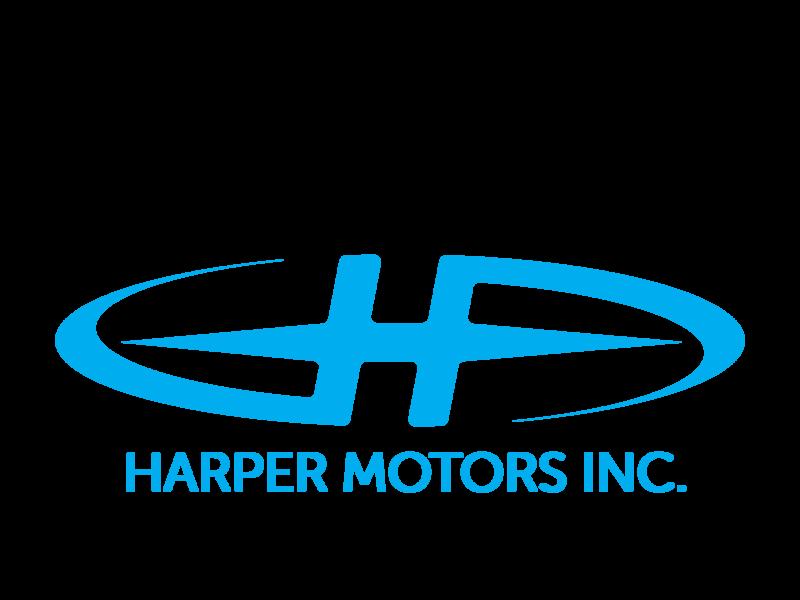 Updated Harper Motors Logo automotive logo badges automotive logo graphic design