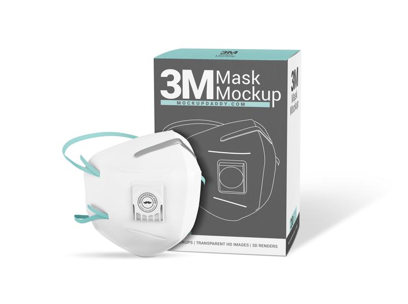 3M Medical Mask PSD Mockup realistic mask mockup n95 mask mockup mask mockup medical mask mockup corona mask mockup corona mockup coronavirus psd mask mockup face mask mockup branding mockup