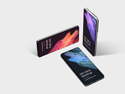 Samsung Galaxy S21 Ultra Mockup samsung s21 mockup samsung s21 mockup
