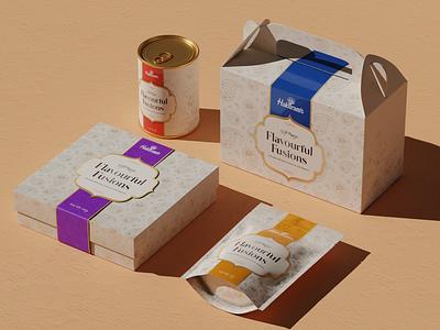 Corporate Gift Packaging (Haldiram's) packaging mockup premium packaging gift packaging illustration label design design mockup branding packaging design packaging