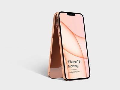 iPhone 13 Mockup branding graphic design 3d iphone 13 mockup figma