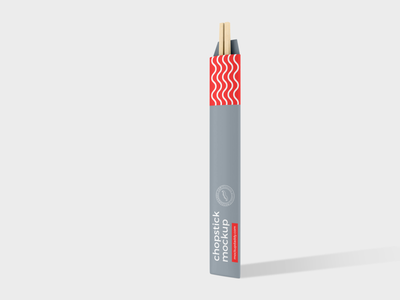 Chopstick Mockup download chopsticks