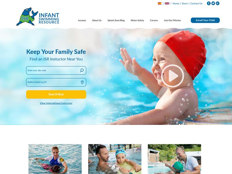 Infantswim website