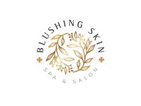 Blushing Skin Branding Design