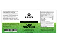 CBD Tincture Label Design