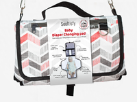 Soultisfy Baby Diaper Changing Bag Wrap Design