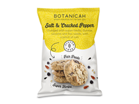 Botanicah Cookie Pouch Packaging Design