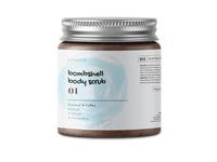 Body Scrub Cosmetic Label Design
