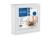Bamboo Bed Mattress Protector Packaging & 3D Render