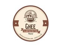 Ghee Packaging Design & Logo
