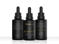 Hair Cosmetic Packaging Design & Mockup