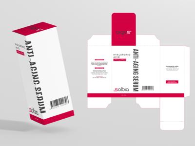 Box Packaging for Anti Aging Serum