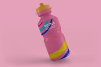 Sport Plastic Water Bottle Mockup