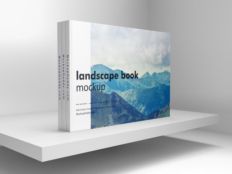 Landscape Book Mockup book cover mockup mockup book psd mockup landscape book mockup book mockup download book mockup book
